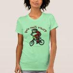 Light Red Girls BMX Tshirts