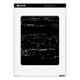 Light reflection on the surface of a lake. decal for iPad