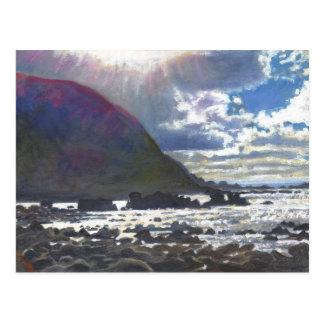 Light rolling in 2013 postcard