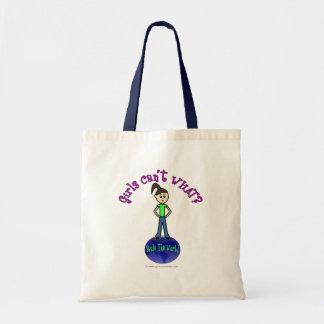 Light Rule The World Girl Canvas Bag