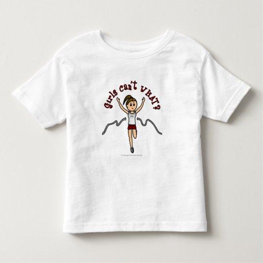 Light Runner in Red Uniform Toddler T-shirt