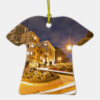 Light Runner - Off the Grid Double-Sided T-Shirt Ceramic Christmas Ornament
