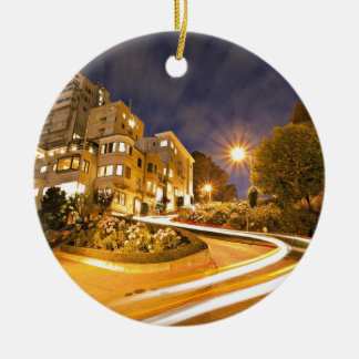 Light Runner - Off the Grid Double-Sided Ceramic Round Christmas Ornament