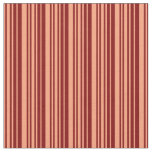 [ Thumbnail: Light Salmon and Maroon Colored Lines Fabric ]