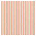 [ Thumbnail: Light Salmon & Bisque Colored Lines Fabric ]