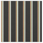 [ Thumbnail: Light Salmon, Dark Olive Green, White, and Black Fabric ]