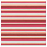 [ Thumbnail: Light Salmon, Dark Red, Crimson & Light Cyan Fabric ]