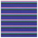 [ Thumbnail: Light Salmon, Purple, Dark Cyan, Black, and Blue Fabric ]