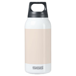 Light Sandy Beige Apricot Color Only Insulated Water Bottle