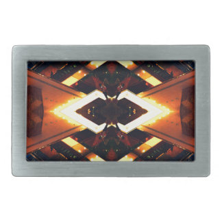 Light Scape Urban Art - Modernism Belt Buckle