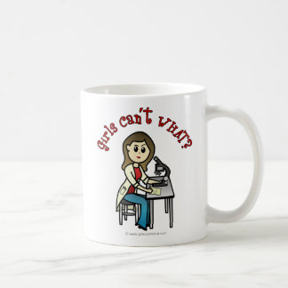 Light Scientist Girl Coffee Mug