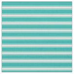 [ Thumbnail: Light Sea Green and Light Cyan Pattern Fabric ]