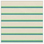 [ Thumbnail: Light Sea Green, Dark Slate Gray, Light Green, Tan Fabric ]