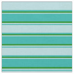 [ Thumbnail: Light Sea Green, Powder Blue, and Green Colored Fabric ]