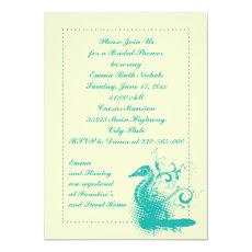 Light sea green seahorse wedding bridal shower 5