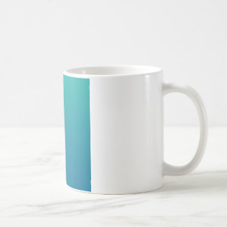 Light Sea Green to Sea Blue Horizontal Gradient Coffee Mug