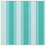 [ Thumbnail: Light Sea Green & Turquoise Colored Pattern Fabric ]