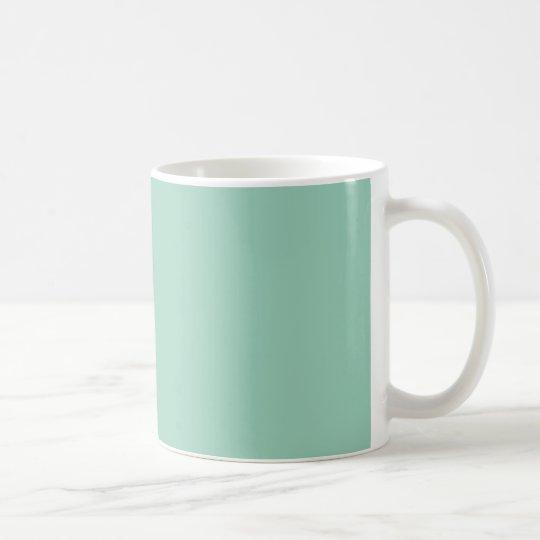 Light Seafoam Green Fashion Color Trend Sea Foam Coffee Mug