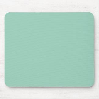 Light Seafoam Green Fashion Color Trend Sea Foam Mouse Pad