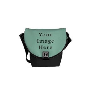 Light Seafoam Green Sea Foam Color Trend Template Courier Bags