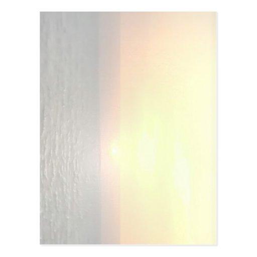 Light Shade Blank Background - Sunshine Toronto Postcard