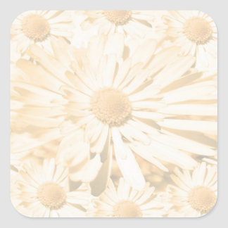 Light Shade Flower Peel-OFF Write-ON Dream Tool Square Sticker