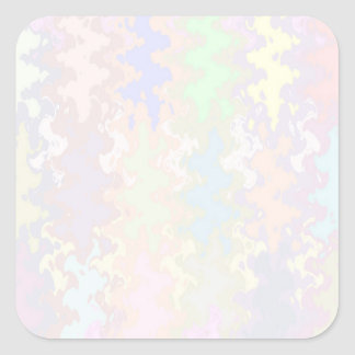 Light Shade Peel-OFF Write-ON Dream Wave Tool Square Sticker