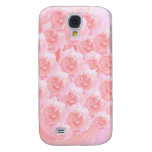Light Shade Red Rose Bouquet Galaxy S4 Covers