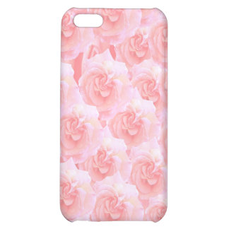 Light Shade Red Rose Bouquet Case For iPhone 5C