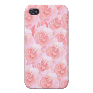 Light Shade Red Rose Bouquet Cases For iPhone 4