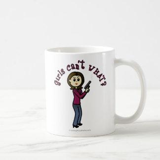 Light Sharpshooter Girl Classic White Coffee Mug