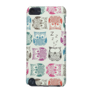light sherbet owls iPod touch (5th generation) case