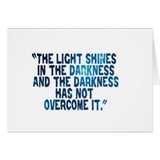 Light Shines Card