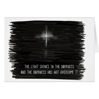 Light Shines in the Darkness Card