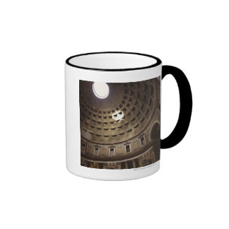 Light shining through oculus in The Pantheon in Coffee Mugs