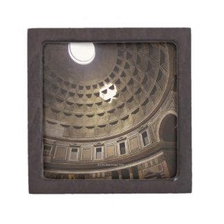 Light shining through oculus in The Pantheon in Premium Jewelry Box