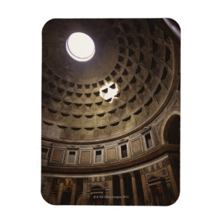 Light shining through oculus in The Pantheon in Magnets