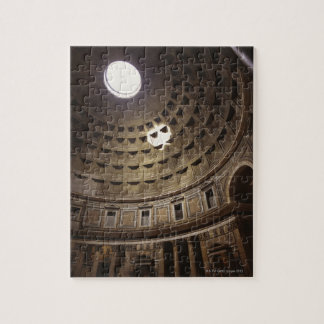 Light shining through oculus in The Pantheon in Jigsaw Puzzle