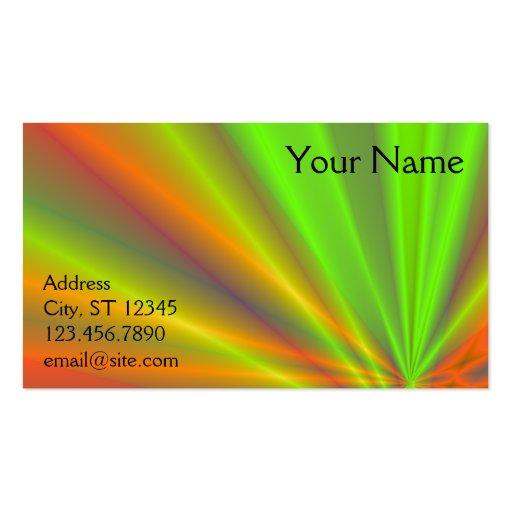 Light Show Business Card