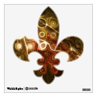 Light Show Fleur De Lis Wall Sticker