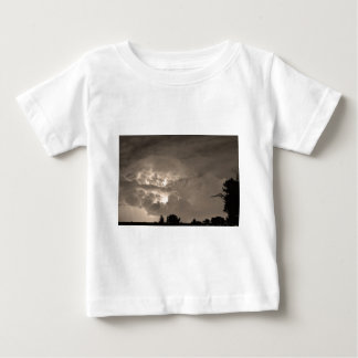 Light Show Sepia Baby T-Shirt