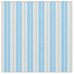 [ Thumbnail: Light Sky Blue and Beige Colored Pattern Fabric ]