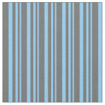 [ Thumbnail: Light Sky Blue and Dim Grey Colored Pattern Fabric ]