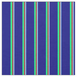 [ Thumbnail: Light Sky Blue, Brown, Green, and Blue Colored Fabric ]