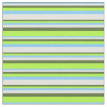 [ Thumbnail: Light Sky Blue, Cyan, Olive Green & Light Green Fabric ]