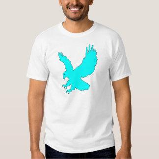 Light Sky Blue Eagle Image T-Shirt