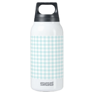 Light Sky Blue, Pastel, Gingham, Checkered SIGG Thermo 0.3L Insulated Bottle