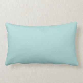 light sky blue solid color lumbar pillow - Light Sky Blue Color