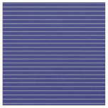 [ Thumbnail: Light Slate Gray and Midnight Blue Colored Lines Fabric ]