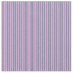 [ Thumbnail: Light Slate Gray and Plum Striped Pattern Fabric ]